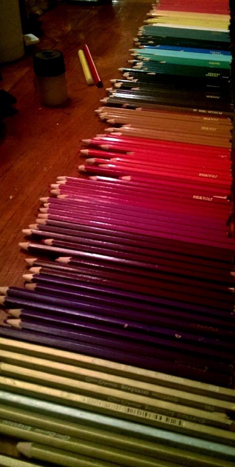 never enough pencils